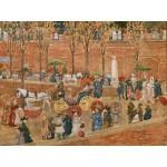 Puzzle  Grafika-00556 Maurice Prendergast : Le Pincio - Rome, 1898