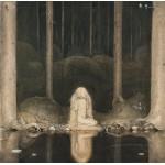 Puzzle  Grafika-00585 John Bauer : Princesse Tuvstarr , 1913