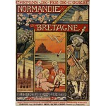Puzzle  Grafika-00607 Affiche pour les Chemins de Fer de l'Ouest , 1900
