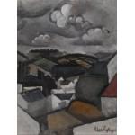 Puzzle  Grafika-00611 Roger de La Fresnaye : Paysage avec un Village, les Collines de Meulan , 1911