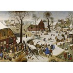 Puzzle  Grafika-00623 Brueghel Pieter : Le dénombrement de Bethléem
