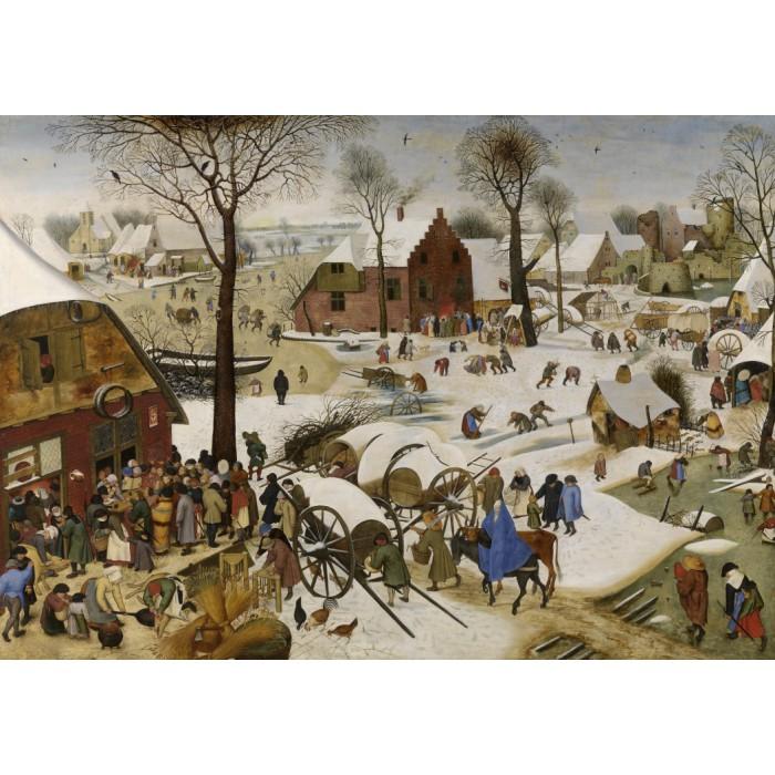 Brueghel Pieter : Le dénombrement de Bethléem