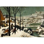 Puzzle  Grafika-00625 Brueghel : Chasseurs dans la neige