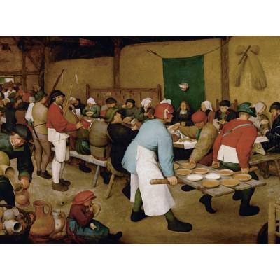 Puzzle Grafika-00626 Brueghel - Noce paysanne, 1567-1568