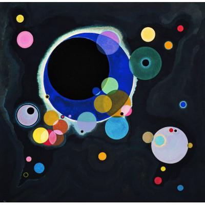 Puzzle Grafika-00629 Vassily Kandinsky - Several Circles, 1926