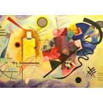 Puzzle  Grafika-00631 Vassily Kandinsky - Jaune, Rouge, Bleu, 1925