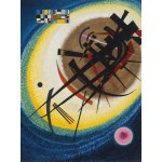 Puzzle  Grafika-00633 Wassily Kandinsky : In the Bright Oval, 1925