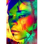 Puzzle  Grafika-00657 Woman Color Face Art