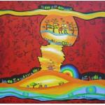 Puzzle  Grafika-00661 Anne Poiré & Patrick Guallino : Epanouissement coloré