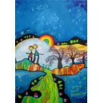 Puzzle  Grafika-00672 Anne Poiré & Patrick Guallino - Chant de vie