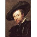Puzzle  Grafika-00678 Rubens Peter Paul : Autoportrait