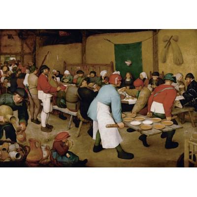 Puzzle Grafika-00679 Brueghel - Noce paysanne, 1567-1568