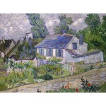 Puzzle  Grafika-00681 Van Gogh Vincent : Maison à Auvers, 1890