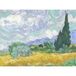 Puzzle  Grafika-00686 Van Gogh Vincent : Champ de Blé avec Cyprès, 1899