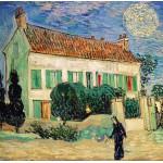 Puzzle  Grafika-00688 Van Gogh Vincent : La Maison Blanche, la Nuit, 1890