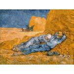 Puzzle  Grafika-00689 Van Gogh Vincent : La Sieste (d'après Millet), 1890