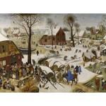 Puzzle  Grafika-00695 Brueghel Pieter : Le dénombrement de Bethléem