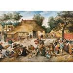 Puzzle  Grafika-00696 Brueghel : Le Repas de Noce, 1568