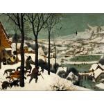 Puzzle  Grafika-00698 Brueghel : Chasseurs dans la neige