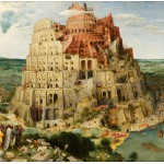Puzzle  Grafika-00704 Brueghel Pieter : La Tour de Babel, 1563