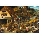 Puzzle  Grafika-00706 Brueghel Pieter : Proverbes Flamands, 1559