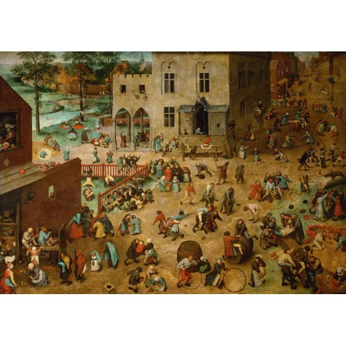 Brueghel Pieter : Les Jeux d'enfants, 1560