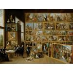Puzzle  Grafika-00711 David Teniers : Le Gouverneur Léopold-Guillaume et sa collection de tableaux à Bruxelles