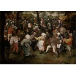 Puzzle  Grafika-00715 Brueghel Pieter : Danse des Paysans, 1566