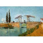 Puzzle  Grafika-00718 Van Gogh Vincent : Pont de Langlois en Arles, 1888