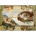 Puzzle  Grafika-00727 Michel Ange : La Création d'Adam de la chapelle Sixtine, 1508-1512