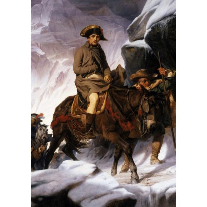 Paul Delaroche : Napoléon Bonaparte franchissant les Alpes, 1850