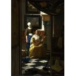 Puzzle  Grafika-00740 Vermeer Johannes : La lettre d'amour, 1669-1670