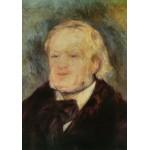 Puzzle  Grafika-00743 Renoir Auguste : Richard Wagner, 1882