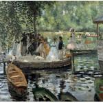 Puzzle  Grafika-00745 Auguste Renoir : La Grenouillère, 1869