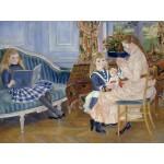 Puzzle  Grafika-00747 Auguste Renoir : L'après-midi des enfants à Wargemont, 1884