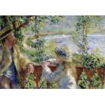 Puzzle  Grafika-00748 Renoir Auguste : Près du Lac, 1879