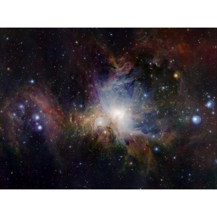 Vue Infrarouge de la Nébuleuse d'Orion