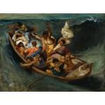 Puzzle  Grafika-00776 Delacroix Eugène : Christ sur la Mer de Galilée, 1841