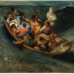 Puzzle  Grafika-00777 Delacroix Eugène : Christ sur la Mer de Galilée, 1841