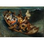 Puzzle  Grafika-00778 Delacroix Eugène : Christ sur la Mer de Galilée, 1841