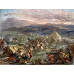 Puzzle  Grafika-00780 Delacroix Eugène : Botzaris surprend le camp des turcs au lever du soleil, 1860-62