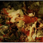 Puzzle  Grafika-00783 Delacroix Eugène : La Mort de Sardanapale, 1827