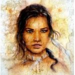 Puzzle  Grafika-00787 Femme Indienne