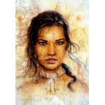 Puzzle  Grafika-00788 Femme Indienne