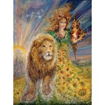 Puzzle  Grafika-00820 Signe du Zodiaque - Lion