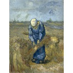 Puzzle  Grafika-00849 Vincent Van Gogh: Femme Paysan d'après Millet