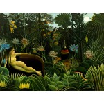 Puzzle  Grafika-00851 Henri Rousseau : The Dream, 1910