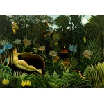 Puzzle  Grafika-00852 Henri Rousseau : The Dream, 1910