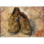 Puzzle  Grafika-00865 Van Gogh Vincent : Chaussures, 1888