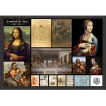 Puzzle  Grafika-00871 Léonard de Vinci - Collage